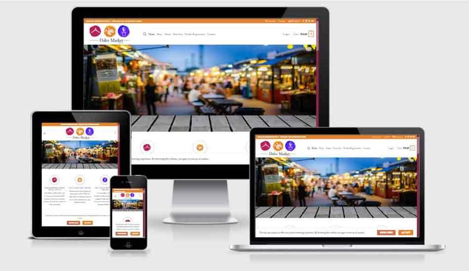 MultiVendor Marketplace responsive designs