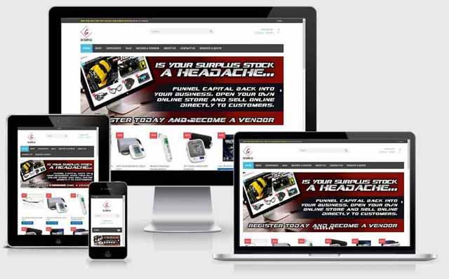 Multivendor-ecommerce-website design